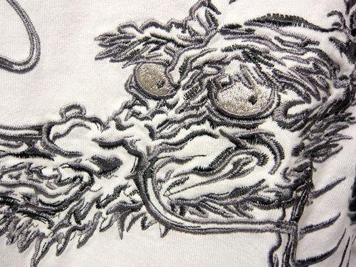 花旅楽団 刺繍
