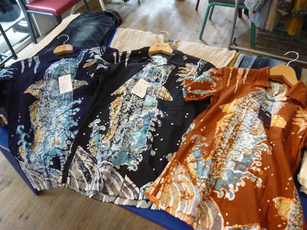 鯉波 和柄半袖シャツ