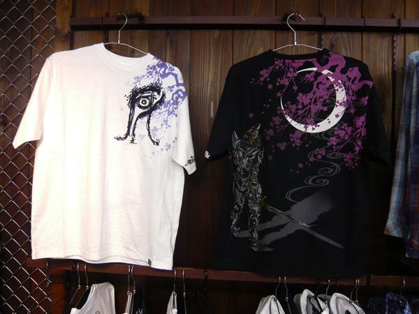 牙狼×月桜 和柄Tシャツ