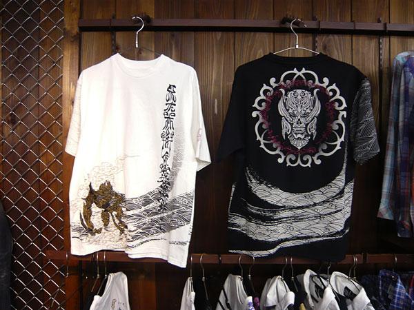 心滅牙狼×ザルバ 和柄Tシャツ