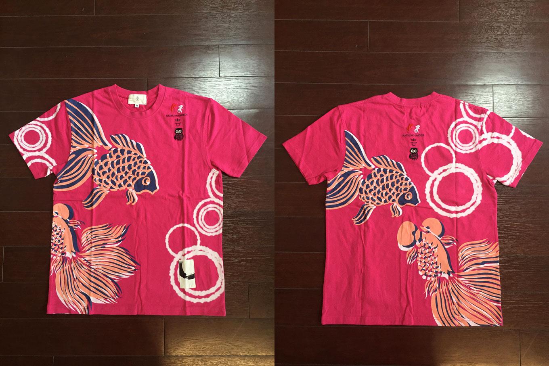 夏のおもひで和柄Tシャツ