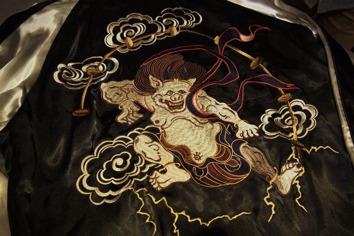 福袋スカジャン 刺繍
