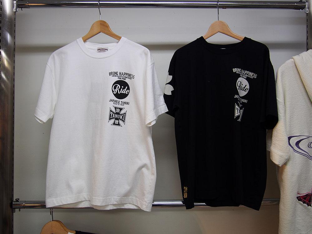 ポンズ RIDE 和柄Tシャツ