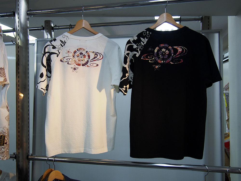 オパールプリント 和柄Tシャツ