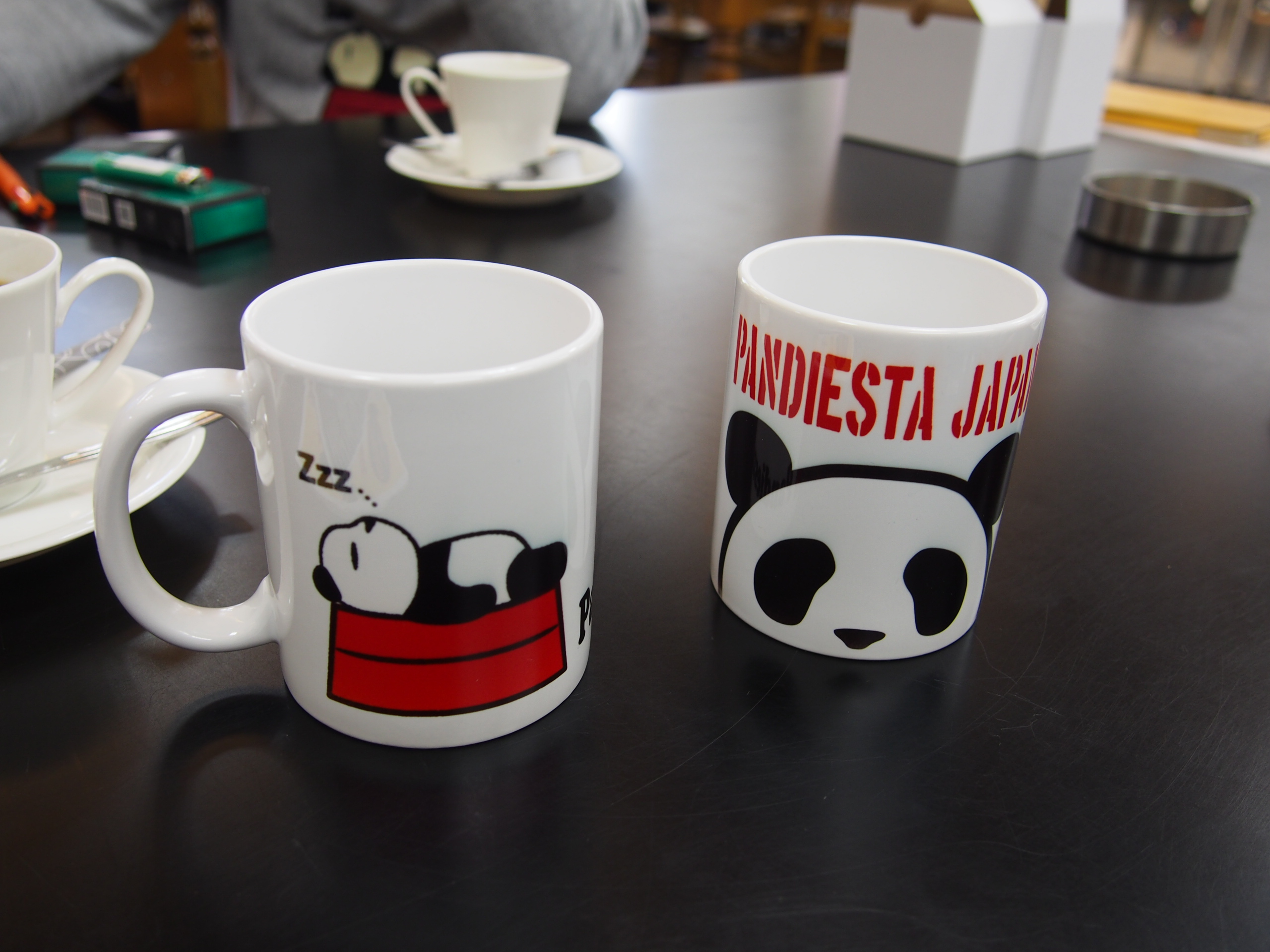 パンダマグカップ
