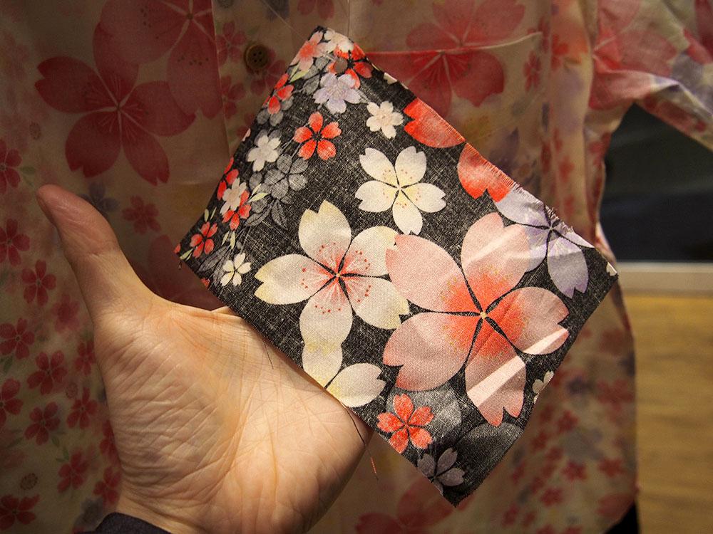 「衣櫻の2016年夏物サンプル」和柄ネクタイを作ってきたぞ!
