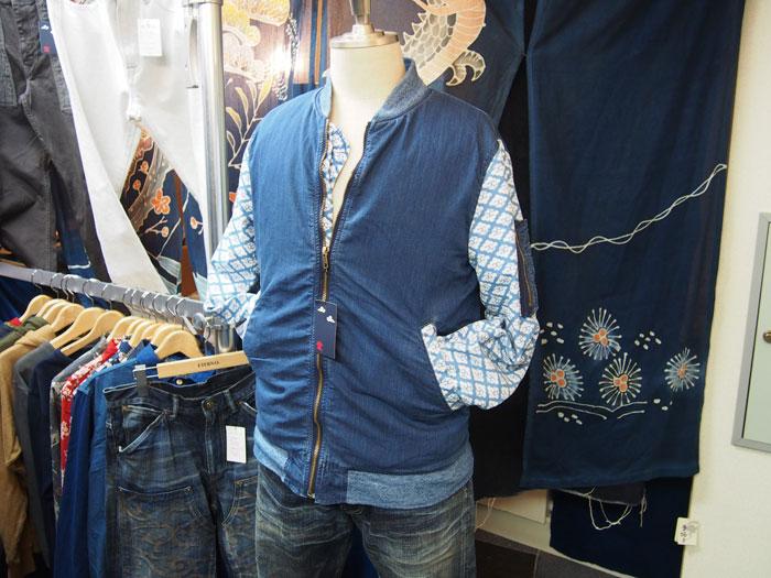 和柄切り替えMA-1ジャケット