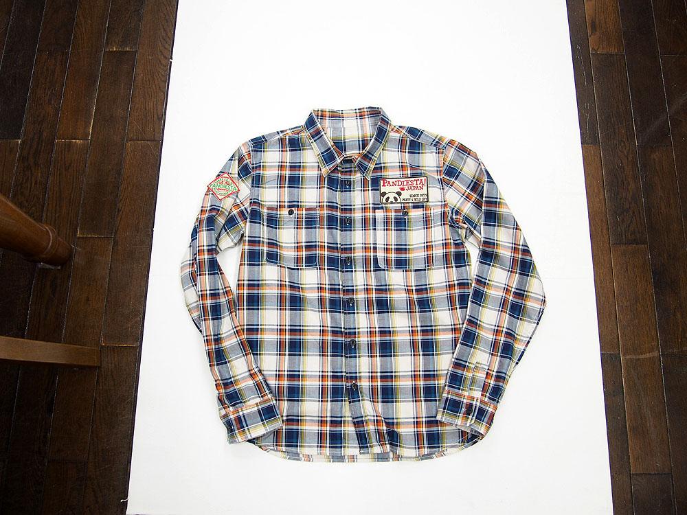 錦パンダシャツ