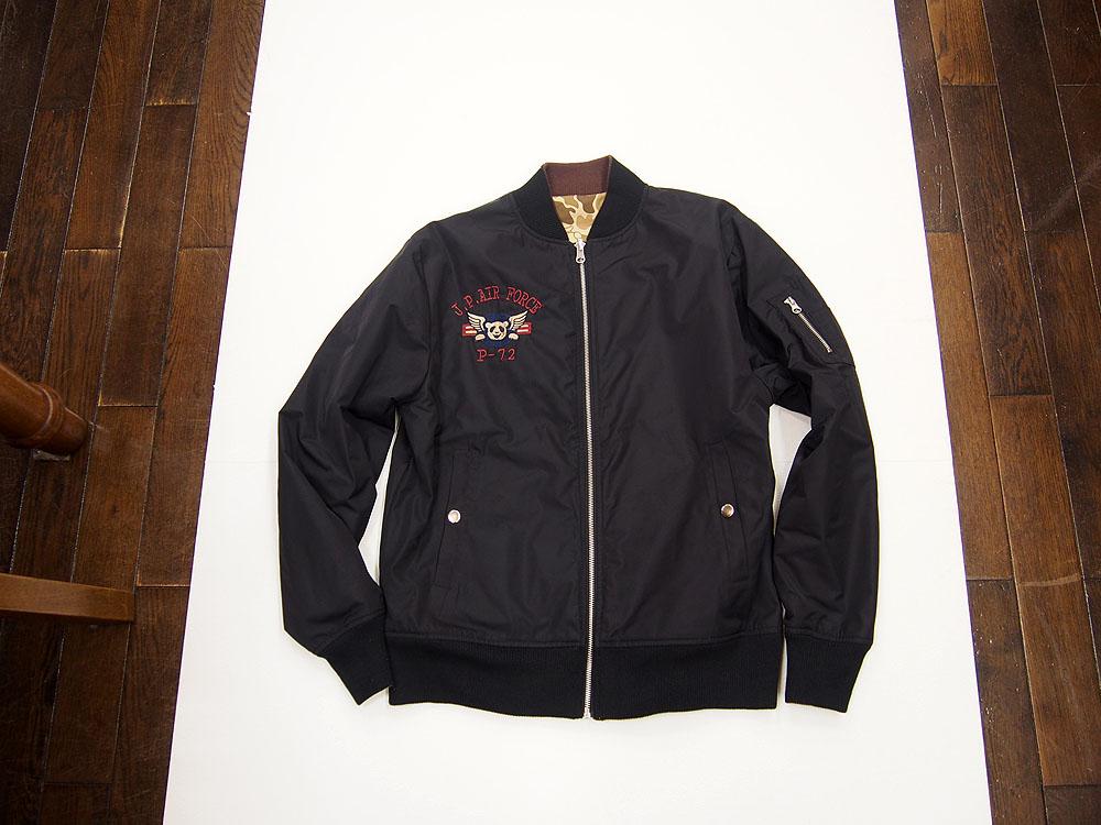 錦パンダ MA-1ジャケット