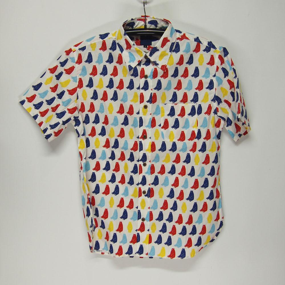 衣櫻 SA-1139 くま 和柄半袖シャツ