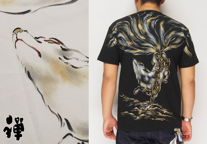 禅(ゼン)は手描きをメインとした和柄Tシャツが豊富!