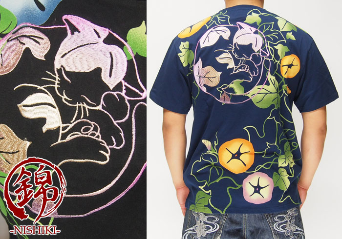 アイテム数は少ないが良い意味でクセを取り入れた和柄Tシャツを作ってるブランド「錦」